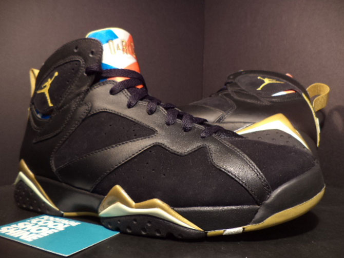 Air Jordan 7 USA Tongue GMP Sample (2012)