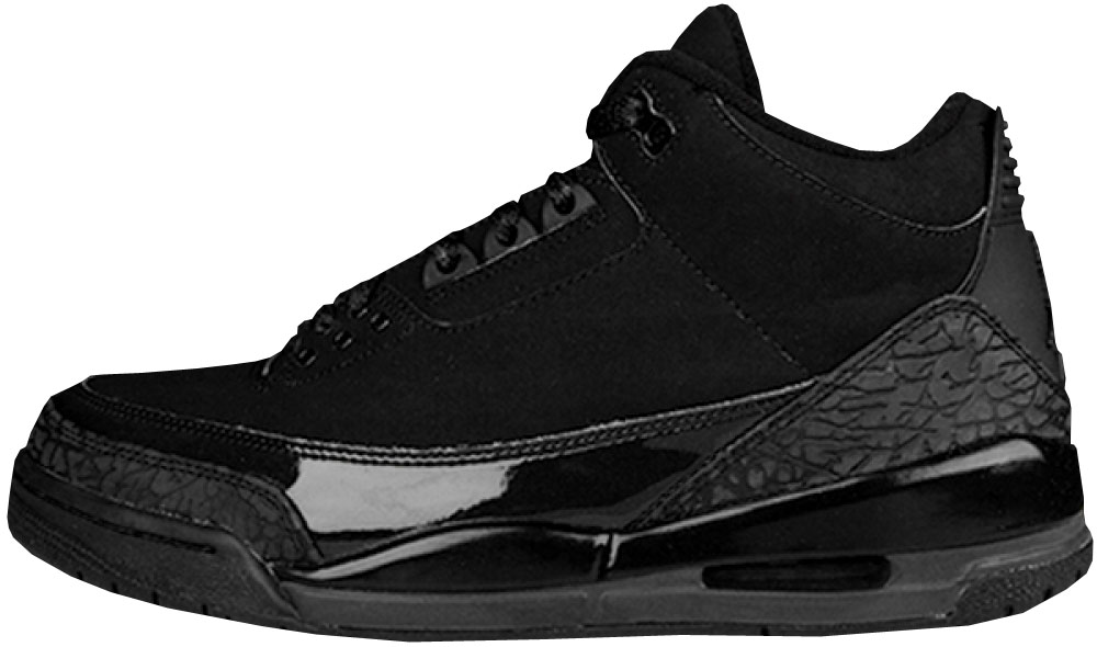 Air Jordan 3 Retro \u0026#39;Black Cat\u0026#39; 136064-002 Black/Dark Charcoal