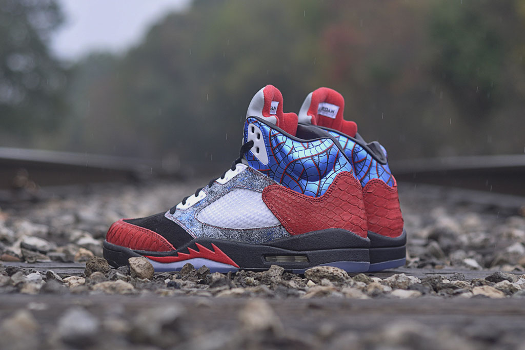JBF Customs x Sekure D - Air Jordan 5 Cobra Commander (3)