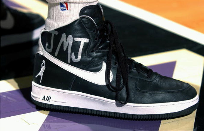 66417f287245 Flashback    Rasheed Wallace and His Air Force Ones