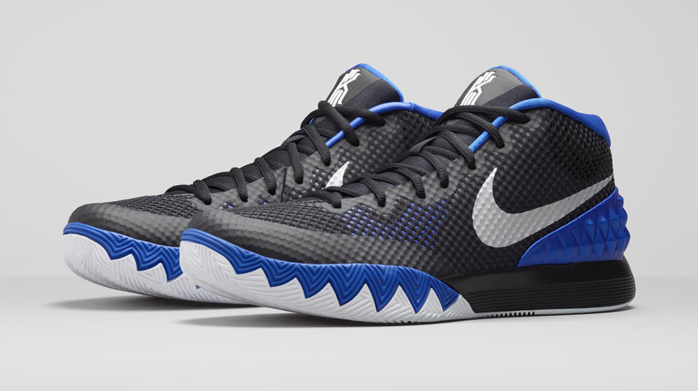 online retailer 3a2d0 8a8d6 Nike Basketball Takes the Kyrie 1 Back to College. A Blue Devils-inspired  colorway.