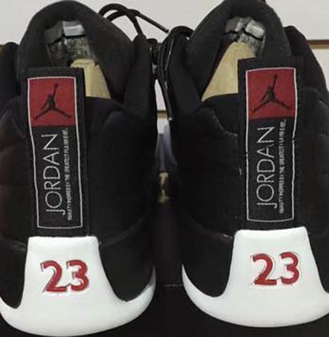 Air Jordan 12 Low Playoffs Heel