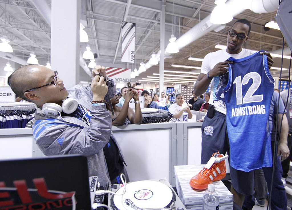 Dwight Howard's adidas All-Star Fan Appearances (1)