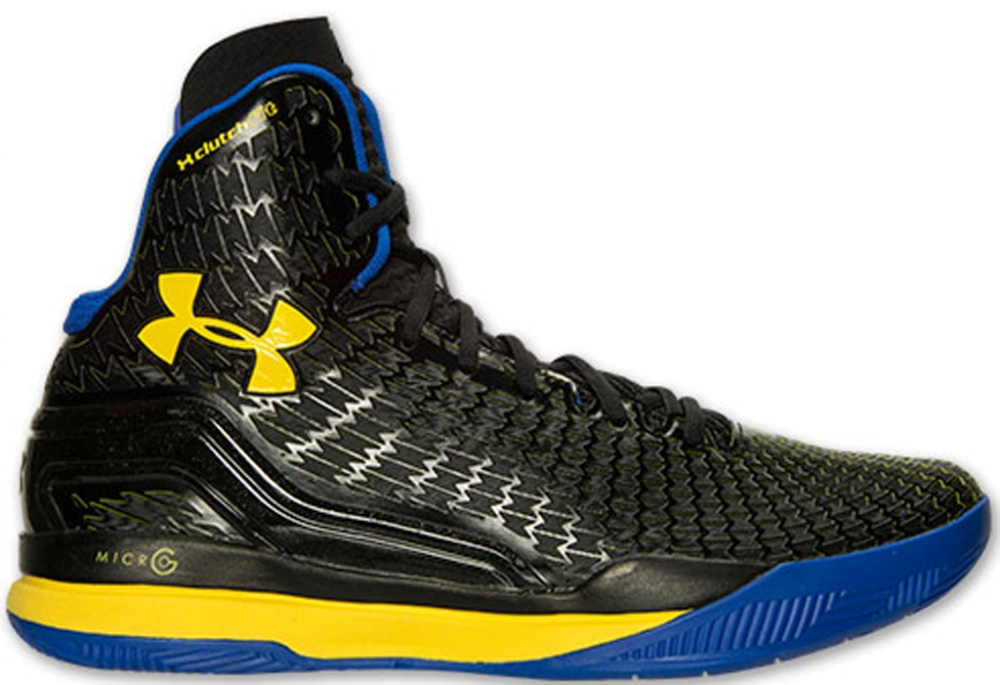 Under Armour Micro G Clutchfit Drive Black/Royal-Taxi