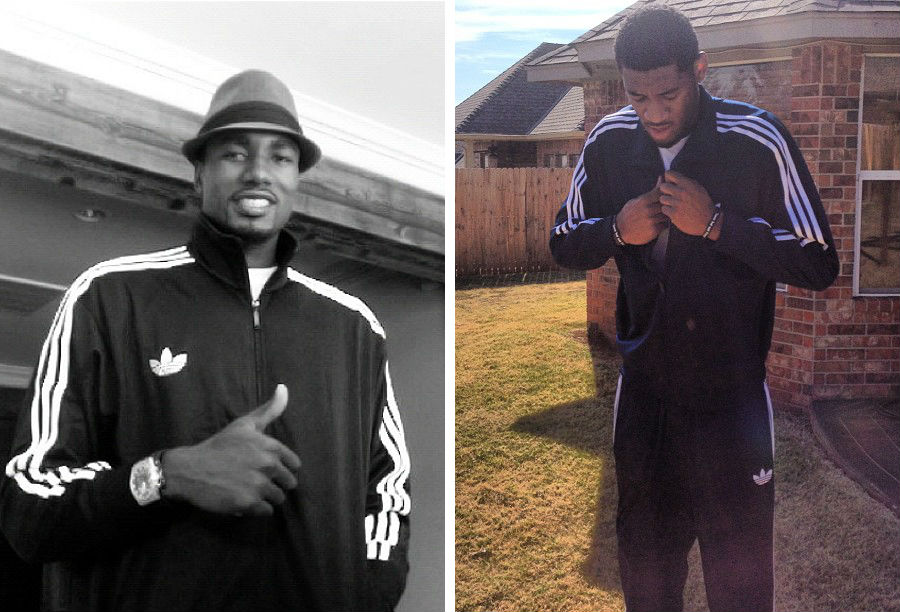 adidas Basketball Celebrates National Tracksuit Day // Serge Ibaka & Perry Jones III