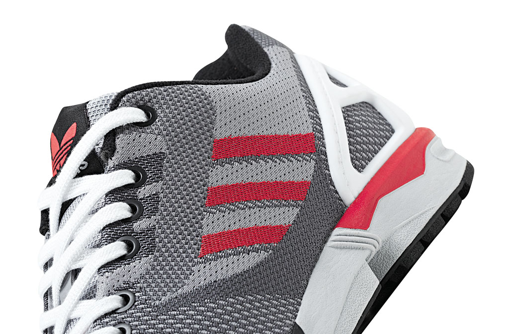 adidas ZX Flux 8000 Weave Pack Grey Red White (3)