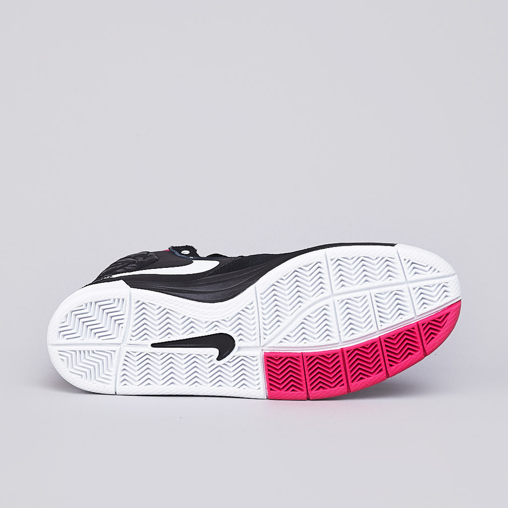 Nike SB PRod 7 High in Black White and Pink Foil outsole