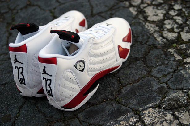 detailed look 83742 c3b5b Air Jordan Retro 14 - White/Varsity Red-Black | Sole Collector