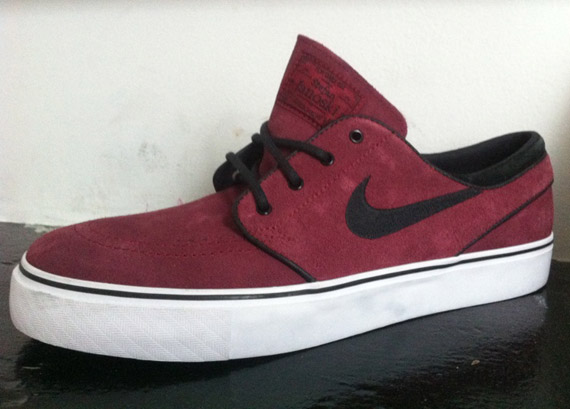 latitud Y Masaccio  Nike SB Zoom Stefan Janoski - 'Team Red' - Closer Look | Sole Collector