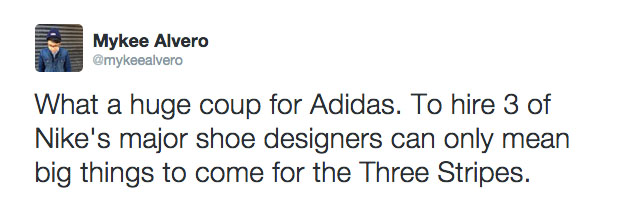 Twitter Reacts to Nike Designers Leaving for adidas (4)