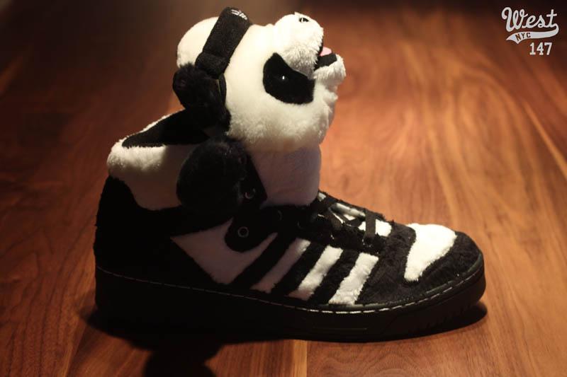 adidas Originals by Originals Jeremy Scott Panda Bears U42612 f631fdadb276