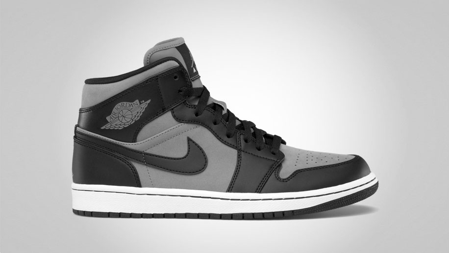 Air Jordan 1 Phat Cool Grey Black White 364770-023 (1)