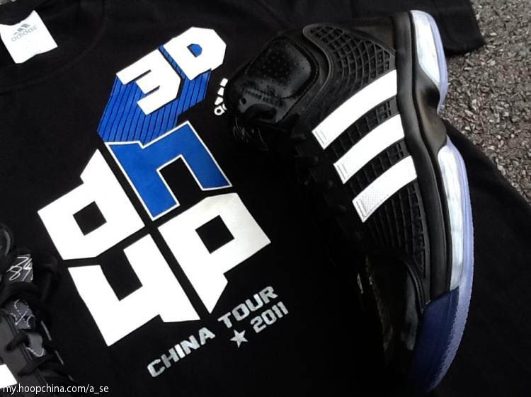 dwight howards new adidas shoes shirt and logo sole