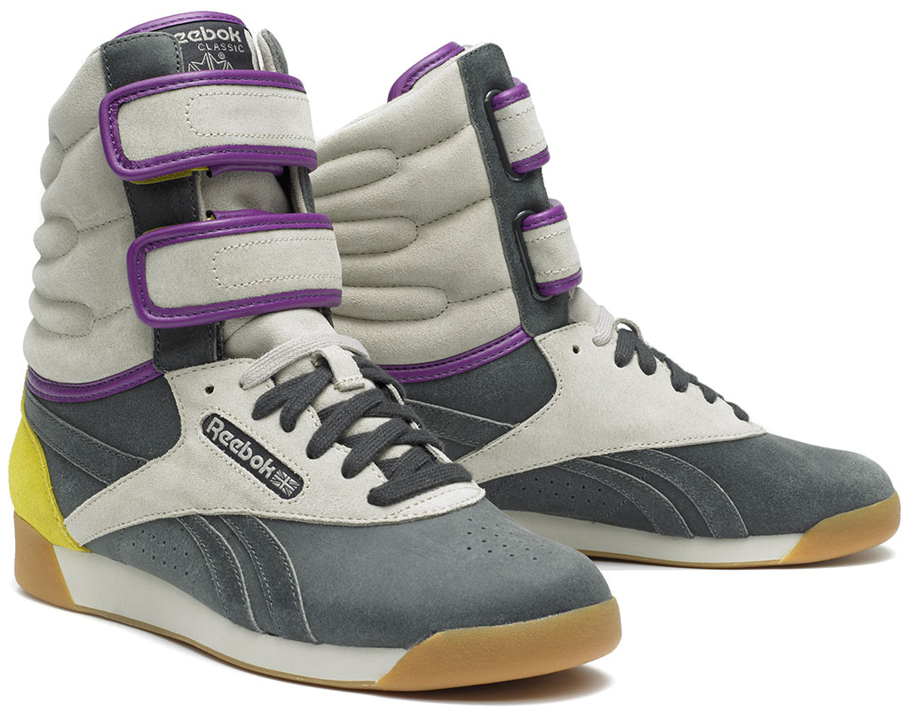 Alicia Keys x Reebok Classics Double Bubble Tribal (1)