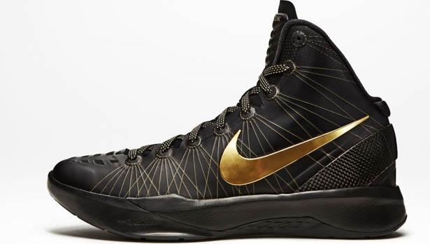 Nike Zoom Hyperdunk 2011 Elite Black/Metallic Gold