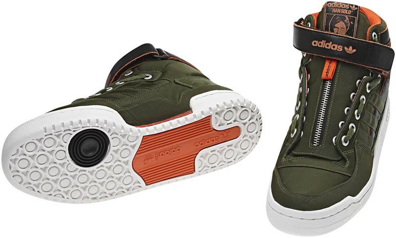 save off f0293 692e6 ... adidas Originals Forum Mid Han Solo - G46486 ...