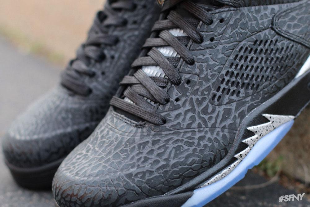 best sneakers 2118d 4674c Air Jordan 3Lab5 Black Metallic Silver Release Date 599581-003 (4)