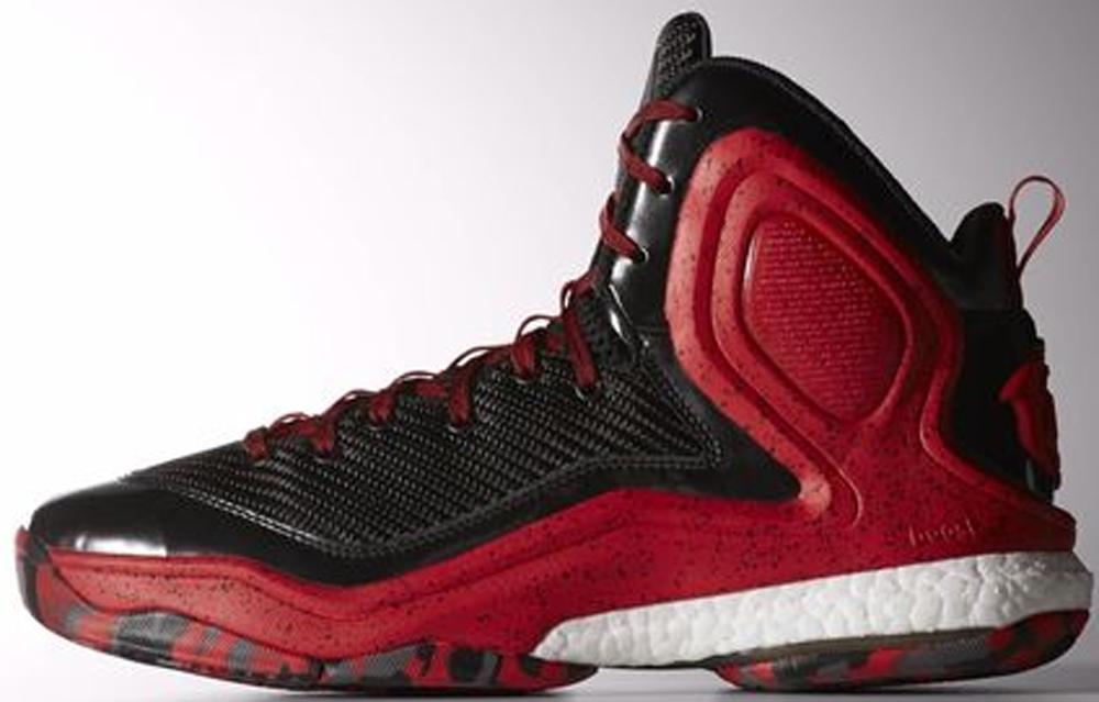 adidas D Rose 5 Boost Black/Scarlet-White