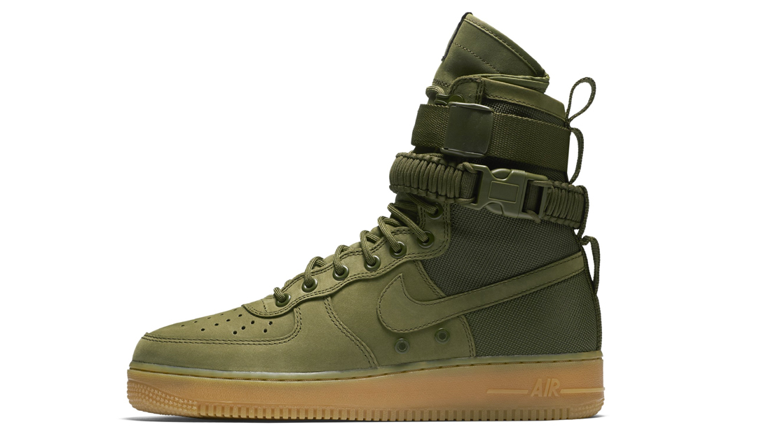 Nike Special Field Air Force 1 Olive Sole Collector Release Date Roundup