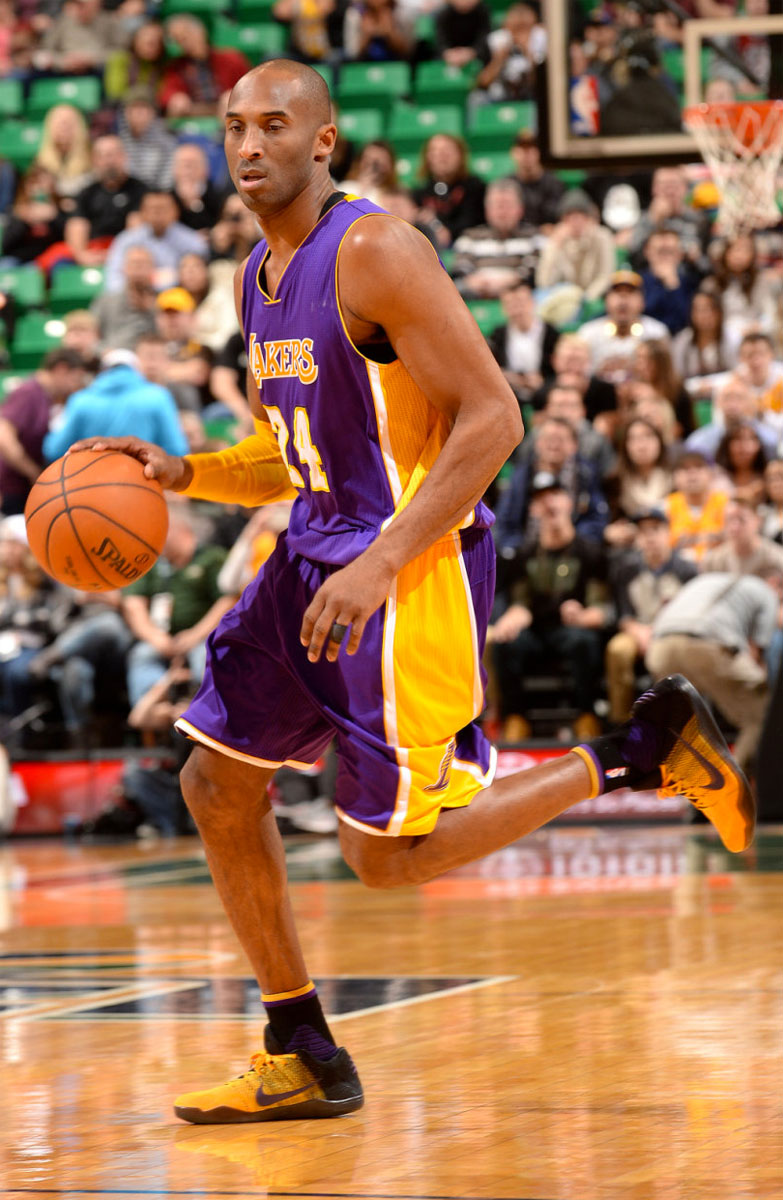 #SoleWatch: Kobe Bryant Has Short Outing in 'Lakers' Nike ...