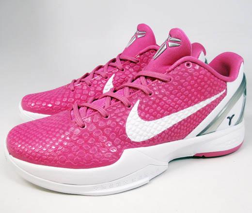 promo code bd206 d198a Nike Zoom Kobe VI Think Pink Kay Yow Pinkfire 429659-601