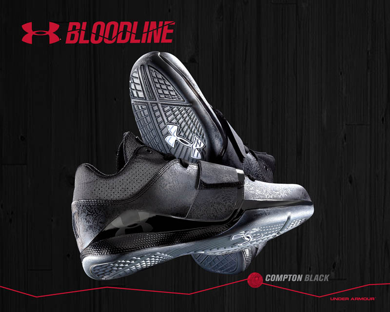 Under Armour Micro G Bloodline Compton Black