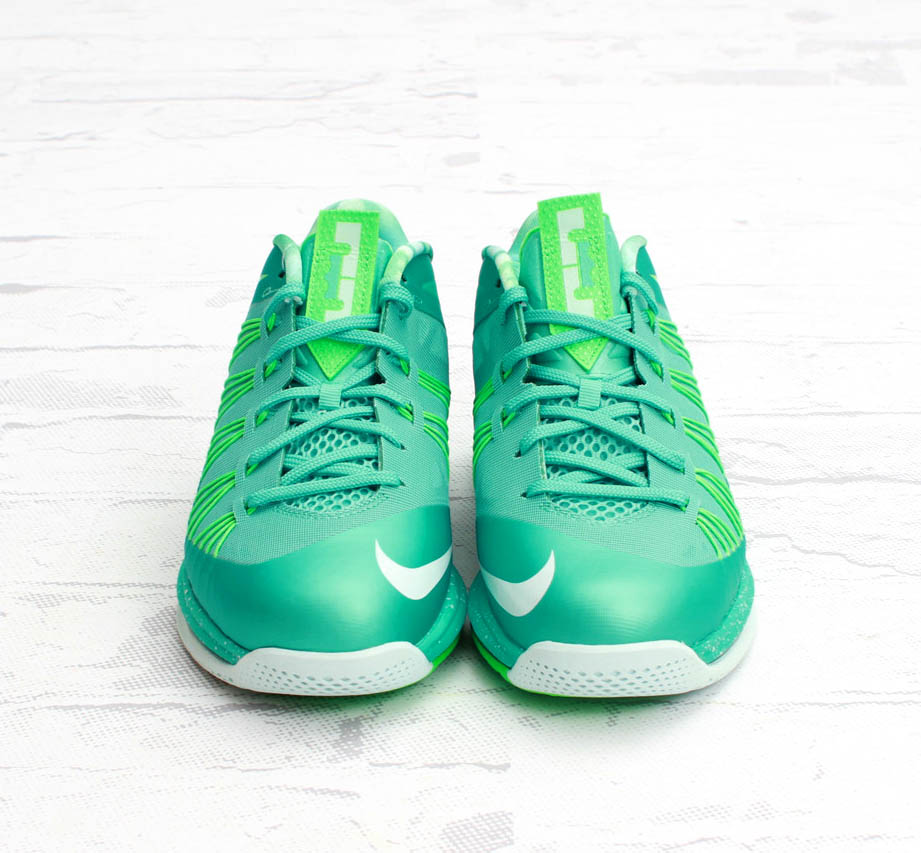 mens Nike air max lebron X 10 low court Easter crystal mint green sz 10