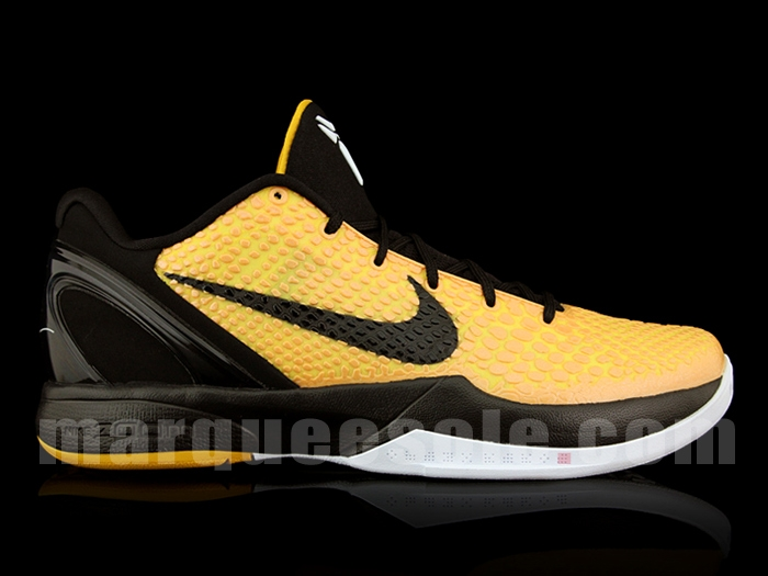 best sneakers ccfa2 676d8 ... ireland nike zoom kobe vi pop del sol lightbulb black tour yellow white  429659 700 bc50f