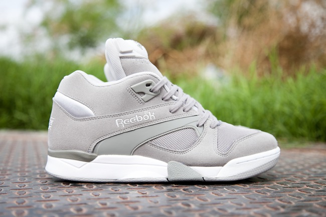 Pick up the Court Victory Pump in grey at select Reebok Classics retailers  now 912606f2903b