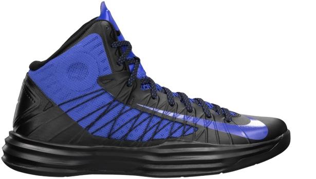 Nike Lunar Hyperdunk 2012 Black/Game Royal
