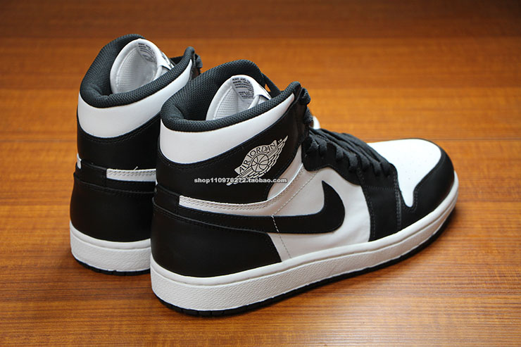 air jordan retro 1 black and white