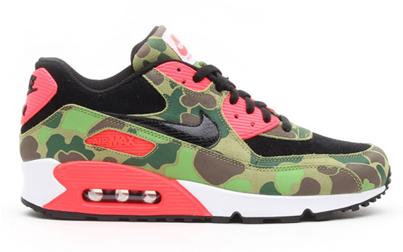Top 10 Collaborations of October 2013 atmos x Air Max 90 Duck Hunter Camo
