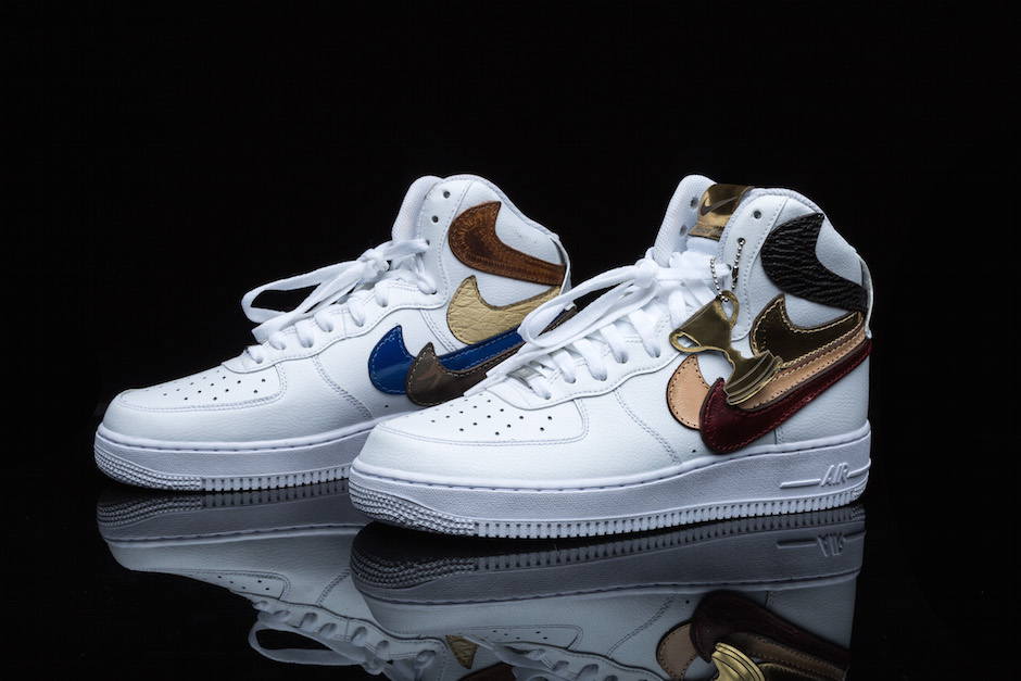 Nike Air Force 1 Misplaced Checks by The Shoe Surgeon