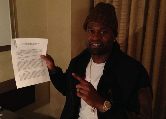 Stephen Jackson Signs with Los Angeles Clippers