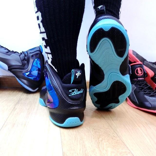 9028cc096e928 Nike Lil  Penny Posite Jade 630999-002 (3)