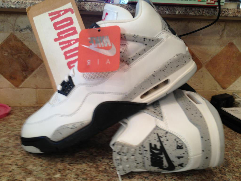 Spotlight // Pickups of the Week 12.29.12 - Air Jordan IV 4 Cement by ponyboy
