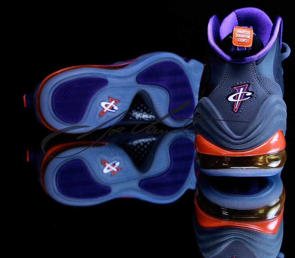 newest b0f09 71972 Nike Air Penny V Phoenix Suns 537331-070 (14)