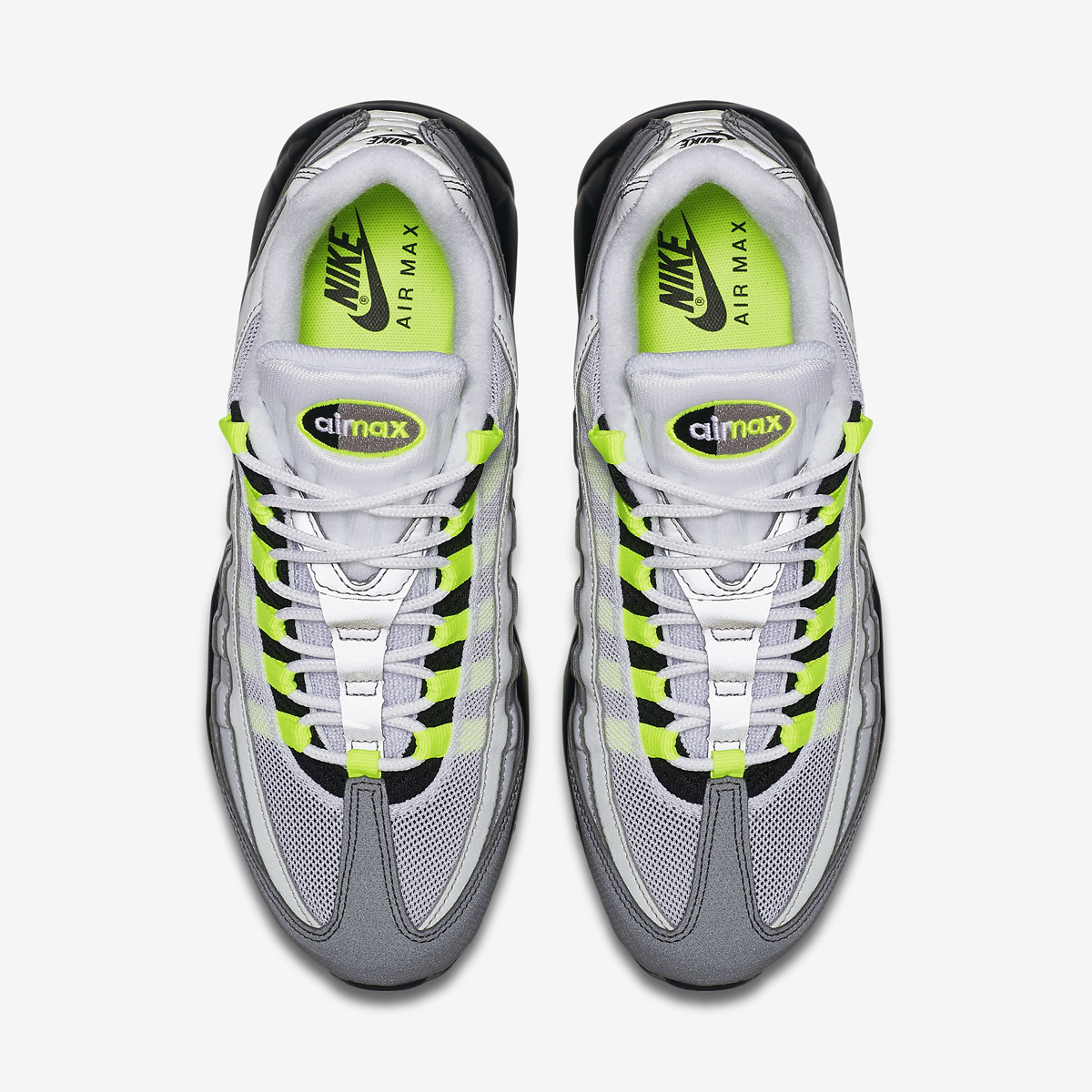 competitive price f13a0 98472 Nike s Fully Reflective  Neon  Air Max 95 Just Released   Sole Collector