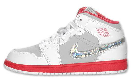 Air Jordan 1 Phat Preschool - Silver