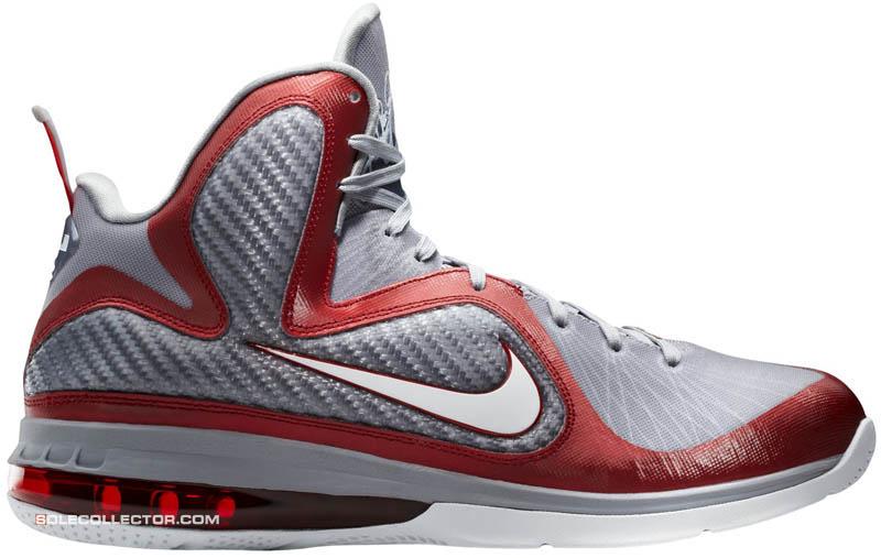 new concept 4f95a 83ffe Nike LeBron 9 IX Ohio State Buckeyes Color  469764-601
