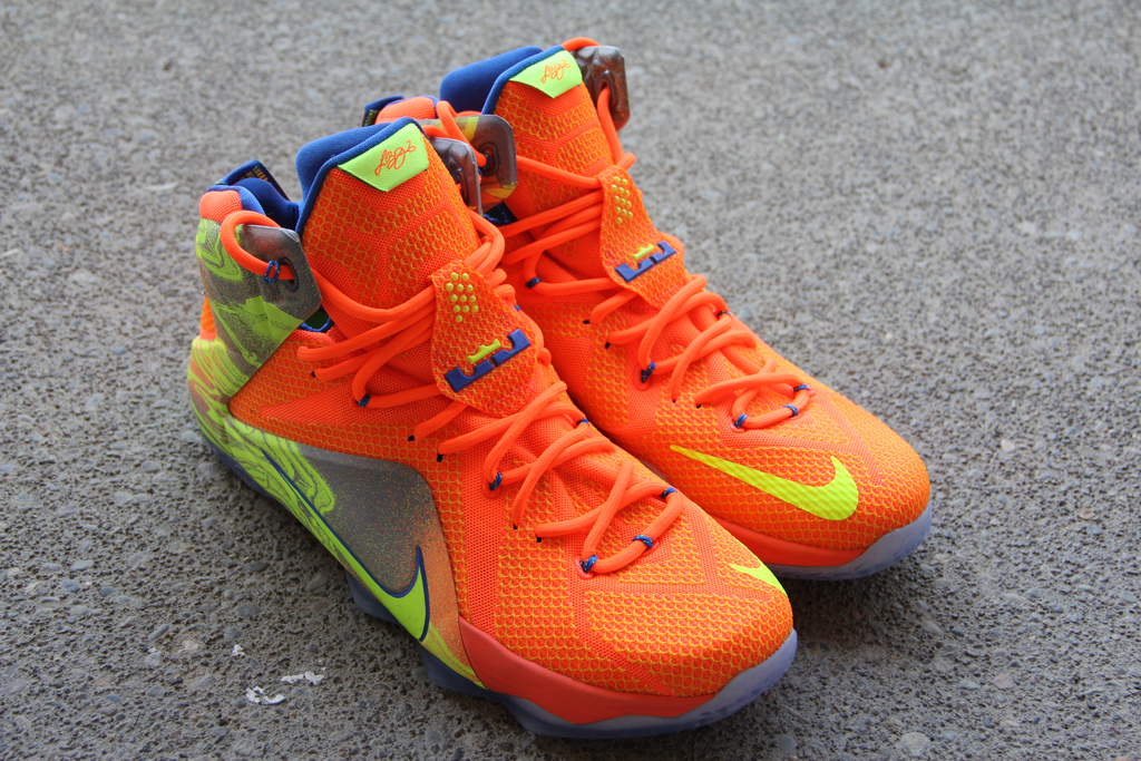 buy popular 3ae2c 0a776 A Detailed Look at the  Six Meridians  Nike LeBron 12