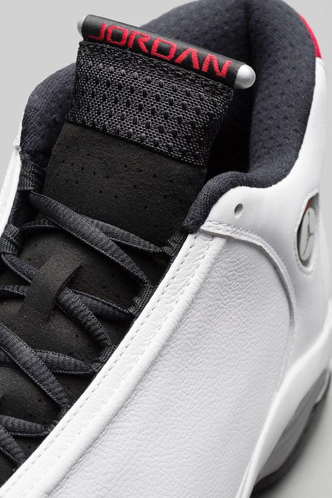 Air Jordan XIV 14 Retro Black Toe Official 487471-102 (4) 2dc81d554