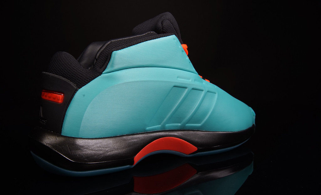 adidas Crazy 1 Vivid Mint/Solar Red (3)