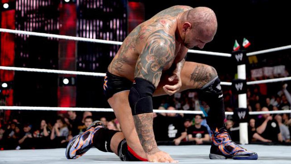 Air Jordan XX8 Suns WWE Elimination Chamber Singles Match Vs Alberto Del Rio Result Win