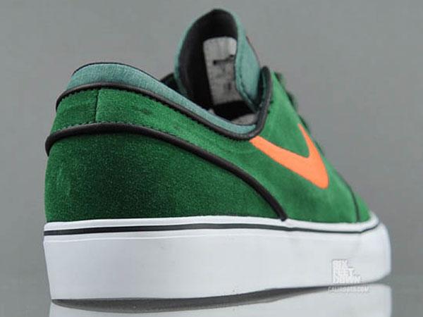 Nike SB Stefan Janoski - Gorge Green/Total Orange   Sole Collector