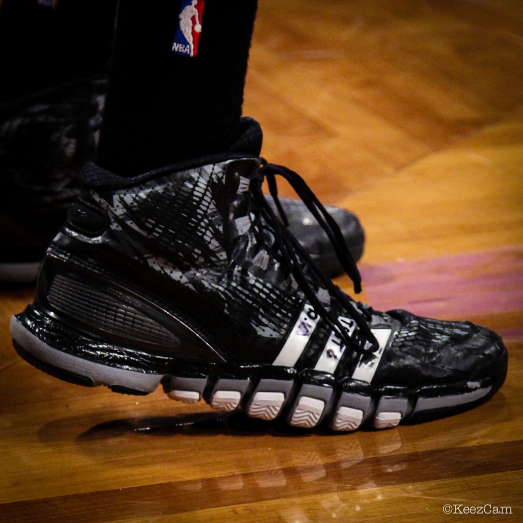 Sole Watch // Up Close At Barclays for Nets vs Bucks - Brandon Knight wearing adidas Crazyquick