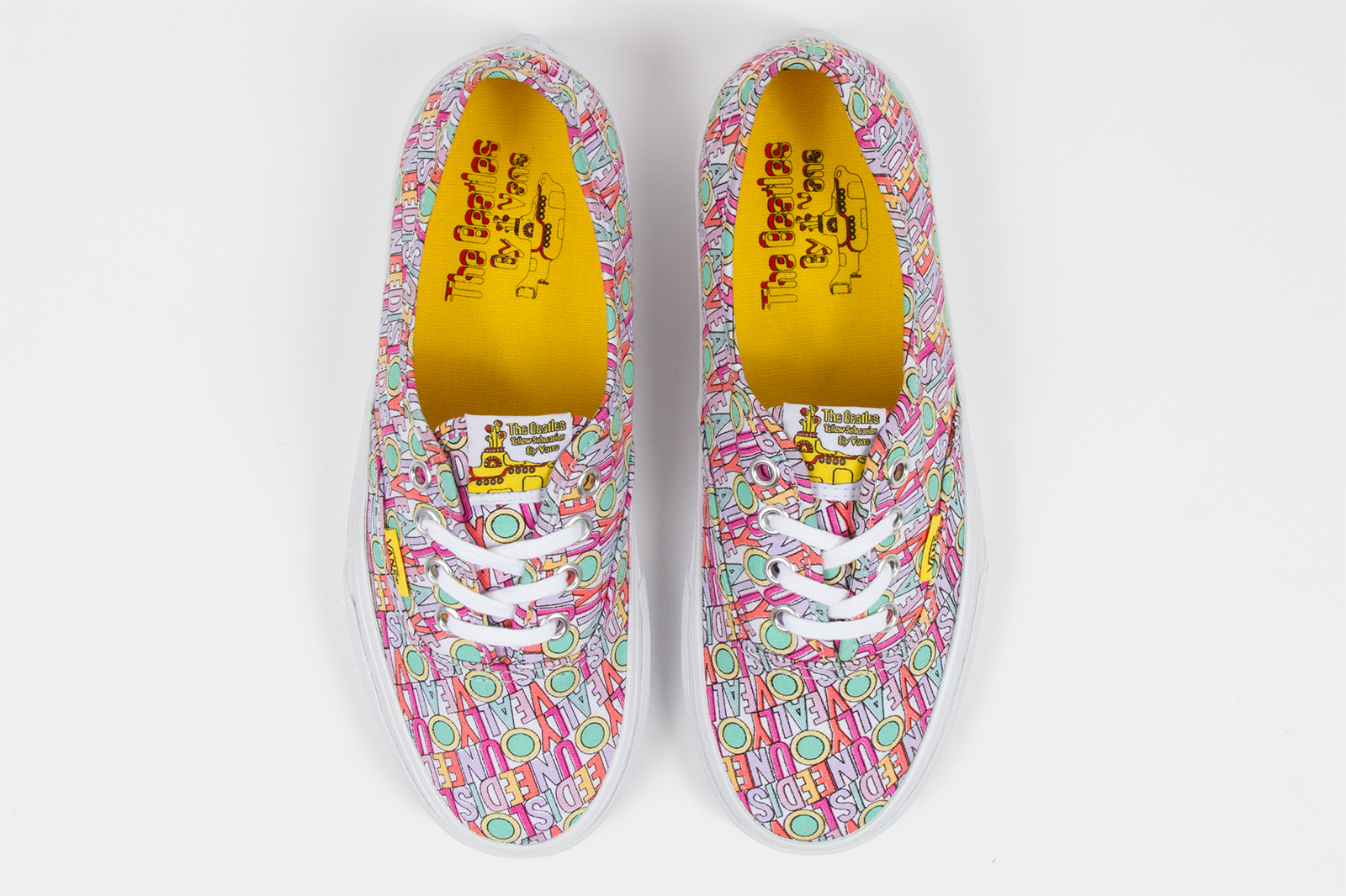 390291e1fe6ae8 The Beatles x Vans Yellow Submarine Capsule Collection releases March 1
