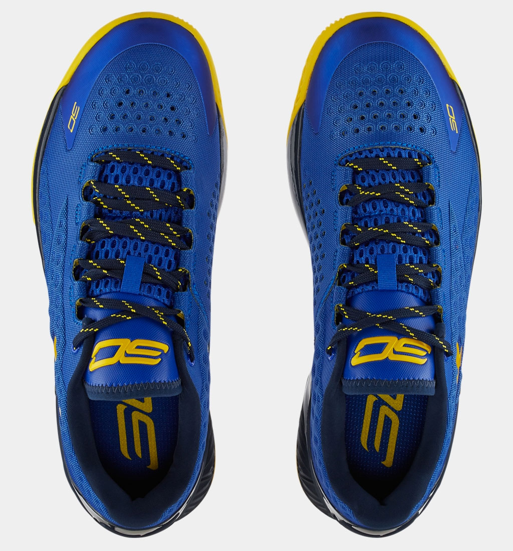 Under Armour Curry One Low Warriors Release Date 1269048-400 (4)