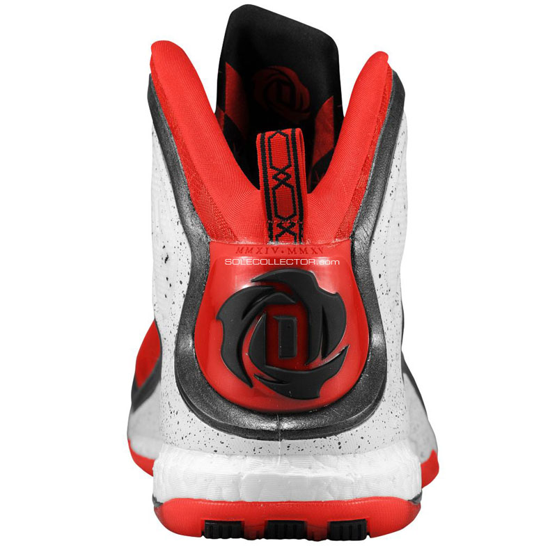 adidas D Rose 5 Boost Red/Cement (3)