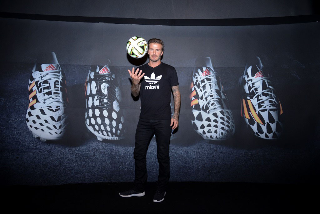 David Beckham Predicts Argentina to Win the 2014 FIFA World Cup
